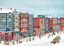 Art of Charm Holiday Greeting Cards